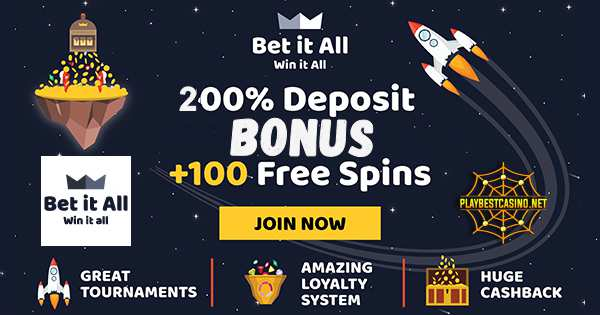 BetitALL CASINO Banner can be seen in this image!
