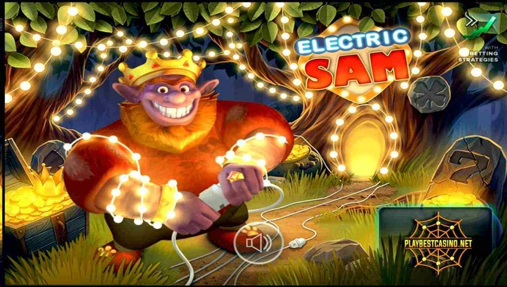Electric Sam Elk Studios at Everum Casino game can be seen in this image.