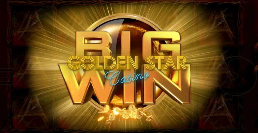 Golden Star Casino və Endorphina Big Win bu görüntüdə.
