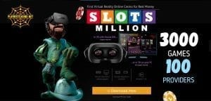 Slotsmillion casino can be seen in this image!
