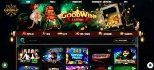 Goodwincasino.com can be seen in this snapshot. Goodwincasino.com can be seen in this image.