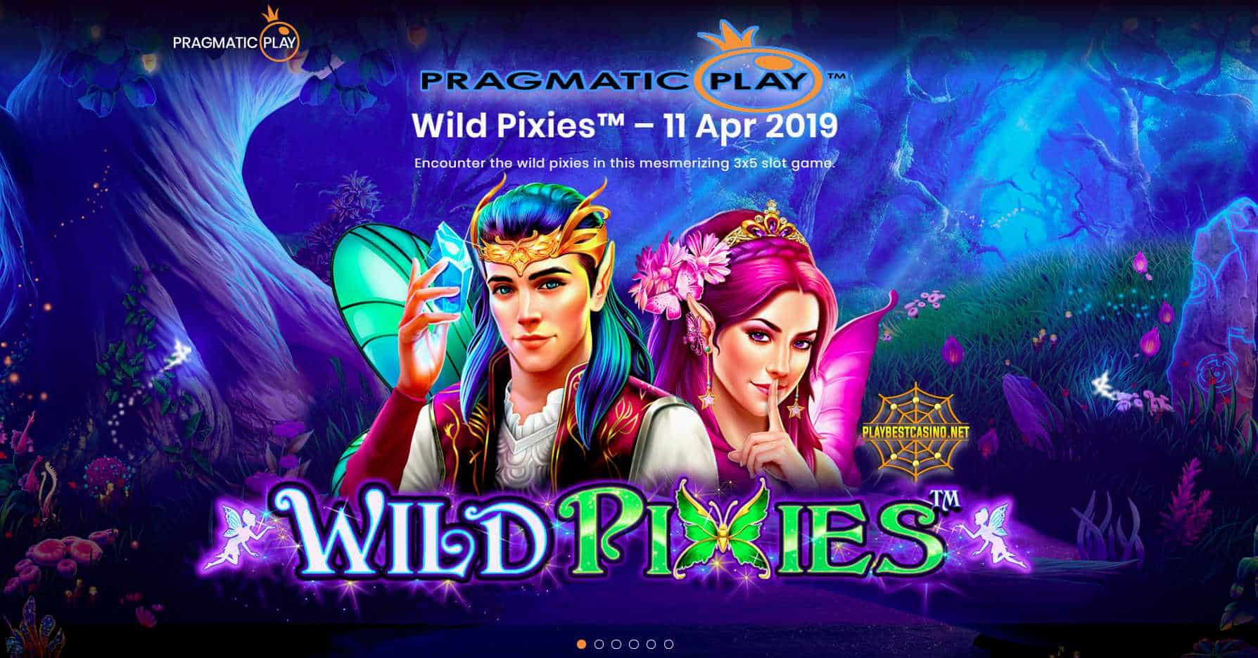 Wild pixies from Pragmatic Play can be seen in this image!