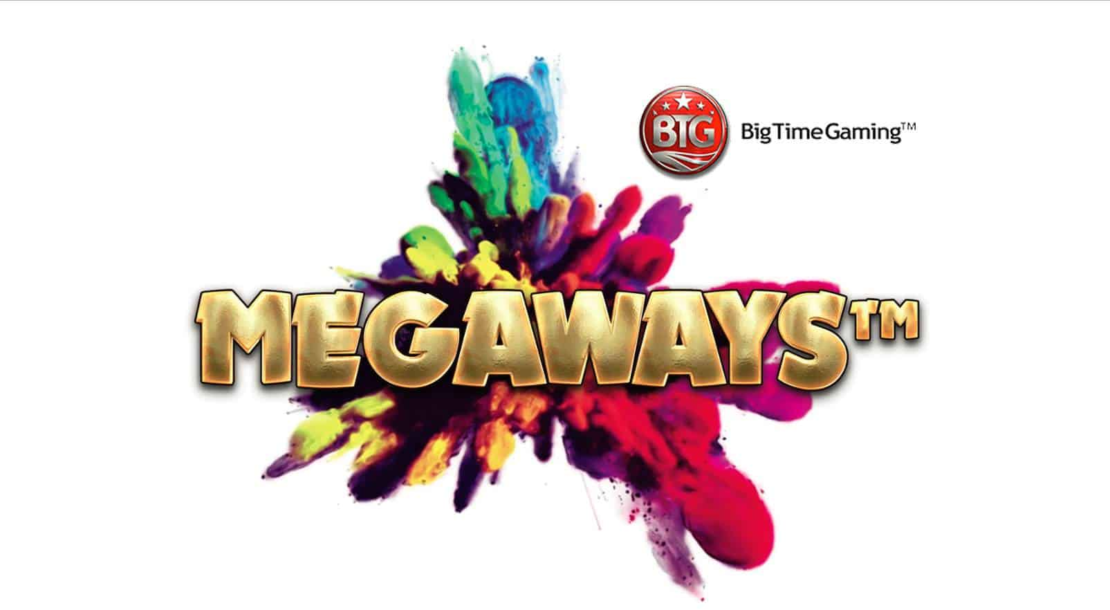 BTG (BigTime Gaming) Megaways can be seen in this image.