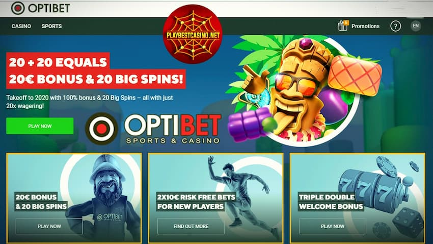 Optibet.com Bonus Page can be seen here.