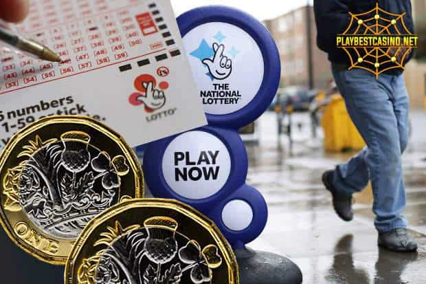 National lottery представлена на данном снимке. National Lottery can be seen can be seen in this image.