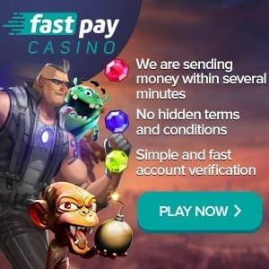 Fastpay casino can be seen in this banner. Fastpay casino banner is presented in this snapshot.