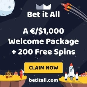 Betitall casino bomus can be seen in this image.
