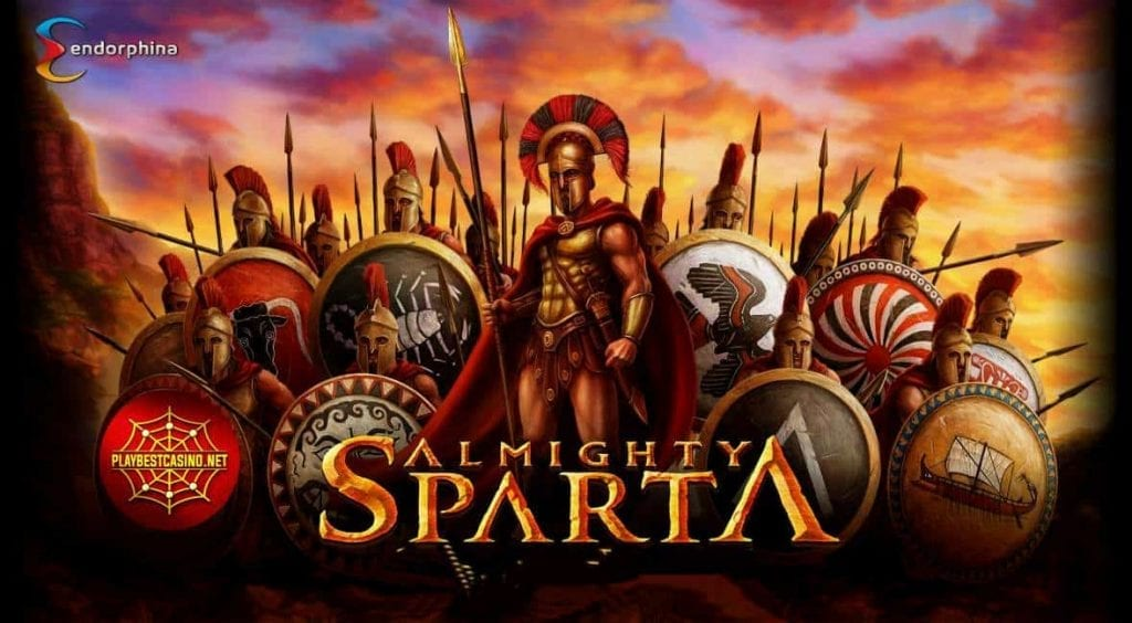 Almighty Sparta  (Endorphina) The new game for playbestcasino.net is shown in this picture!