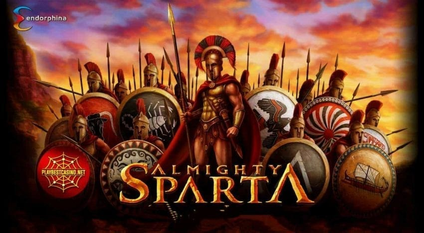 Almighty Sparta  (Endorphina) a new game for playbestcasino.net depicted in this picture!