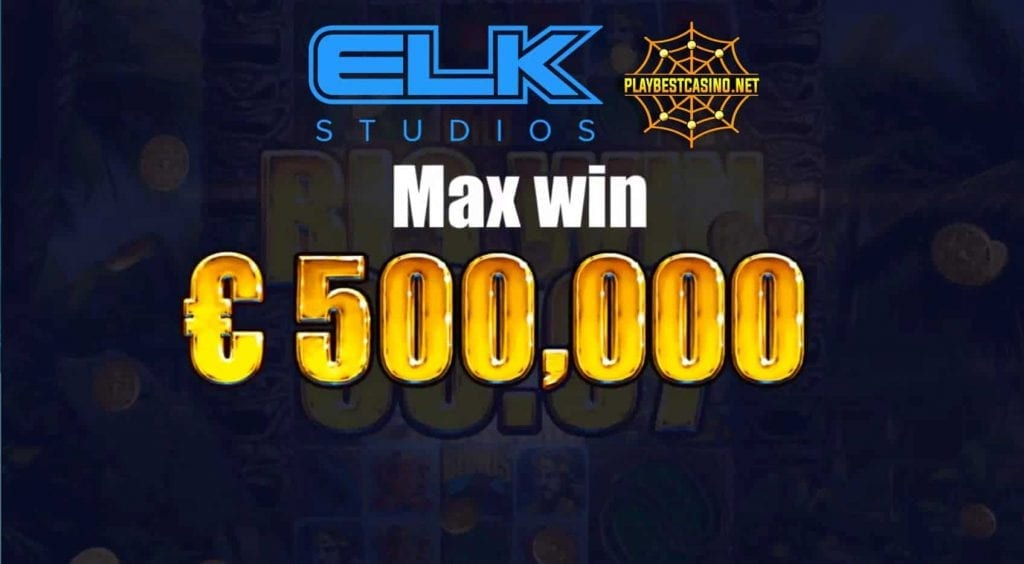 ELK Studios Tahiti Gold Max Win can be seen in this image.