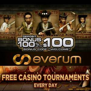 Everum casino banner can be find in this image. Everum casino you can find in this image.