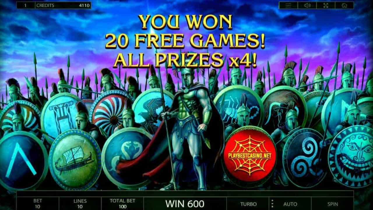 ALMIGHTY SPARTA BONUS GAME 20 PLAYBESTCASINO.NET can be seen here.