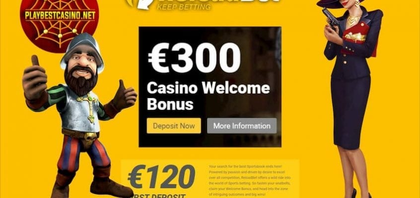 ReloadBet New Casino and Bookmaker is on the photo!