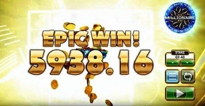 Big Time Gaming (BTG) winnings presented in the picture for playbestcasino.net