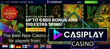 Casiplay! Probably the best new casino of 2019!