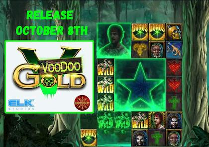 VooDoo Gold. Super game from Elk Studios is visible in the picture.