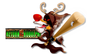150 SPINS on Return of the Rudolph for Playbestcasino.net can be seen on this image.