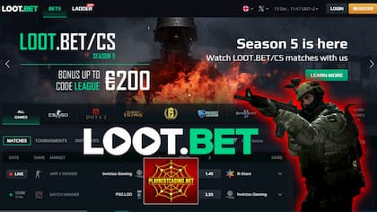 Loot.bet: Betting (Crypto) on Cyber ​​Sport! An overview of 2020 can be seen in the picture.