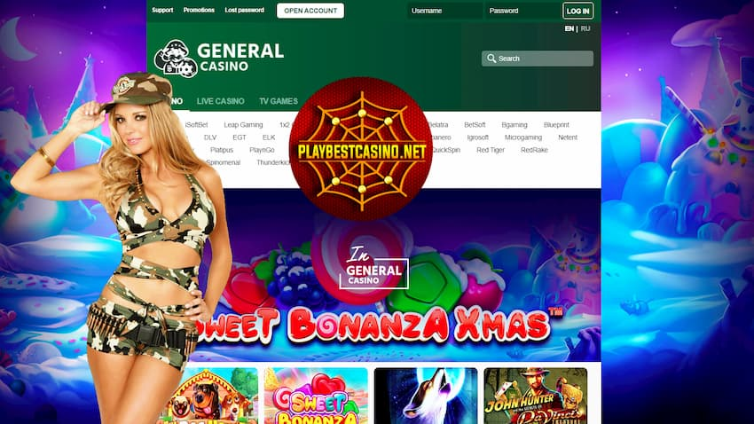 Casino General. General Information is in the photo.