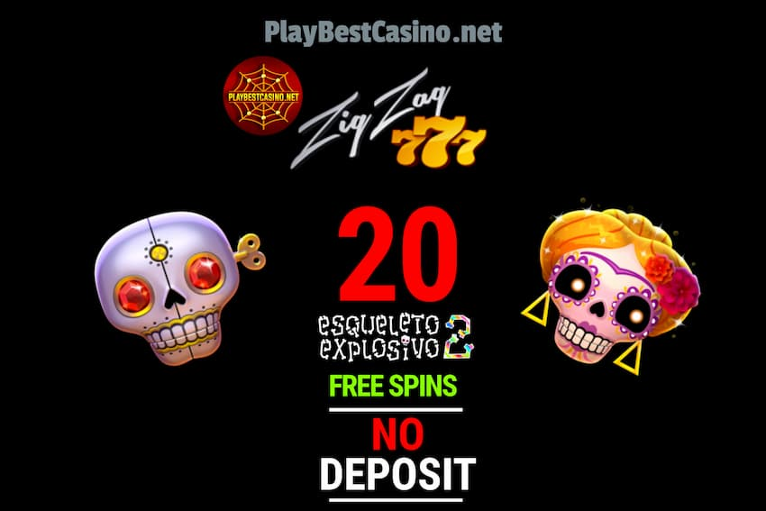 ZigZag777 Casino (2020) 20FS No Deposit + € 2 The present is in the photo!