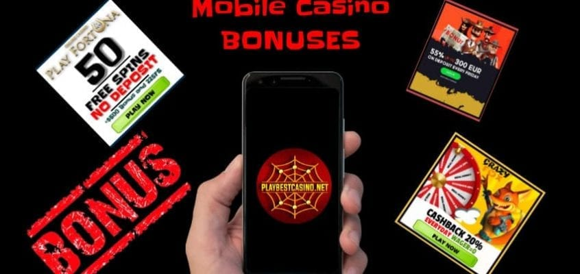 Mobile Casino (2020) How to Choose and Get a Bonus is in the photo.