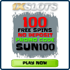 Free Spins without deposit IN 1XSLOTS Casino for PlayBestCasino.net are on photo.